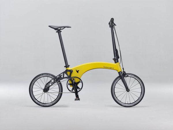 Humingbird best high end compact folding bike