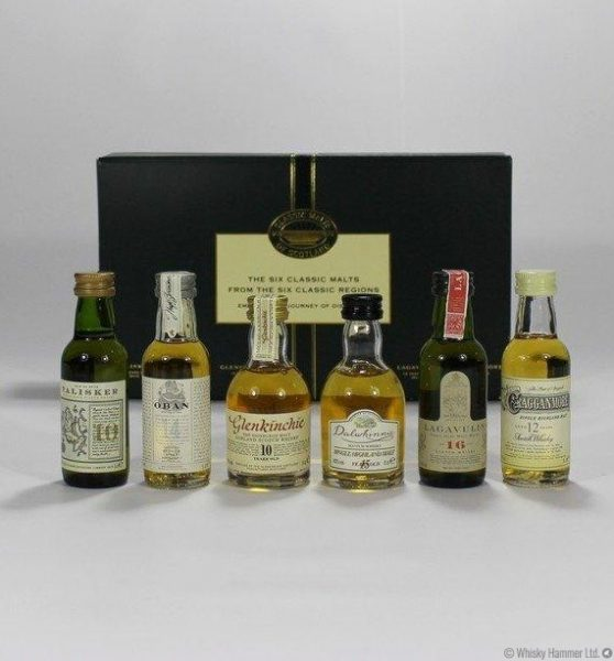 the classic malts Whisky Tasting Set