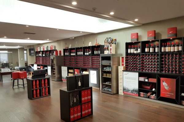 Penfolds store selling some of the top investment wines in Australia