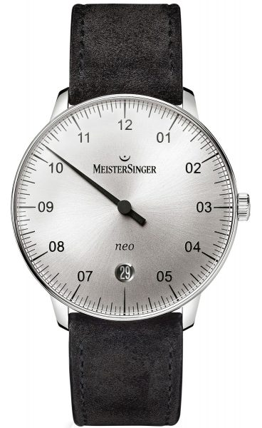 MeisterSinger Watch Neo Suede