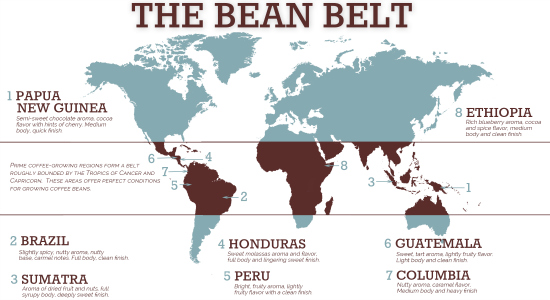 world coffee belt