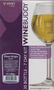 WineBuddy Pinot Grigio Wine Making Kit Review