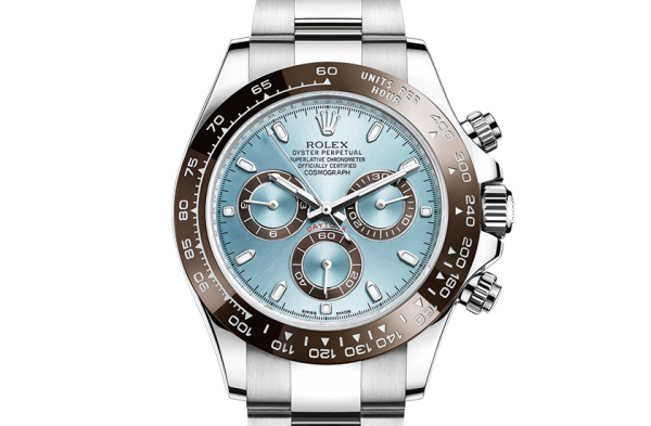 collectable watch 1: Rolex Daytona 40mm Platinum Ice Blue