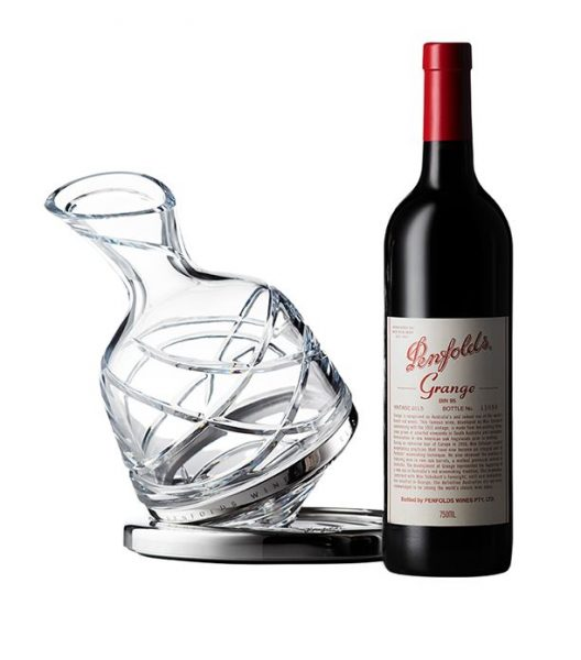 Penfolds Aevum Limited-Edition Crystal Decanter and Grange 2013 (75cl)
