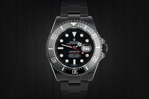 rolex prohunter - aftermarket customization
