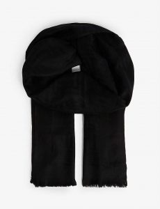 TED BAKER Taybay Branded Wool Scarf