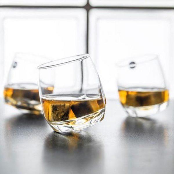 best whisky glasses-sagaform-rocking-whiskey-glasses