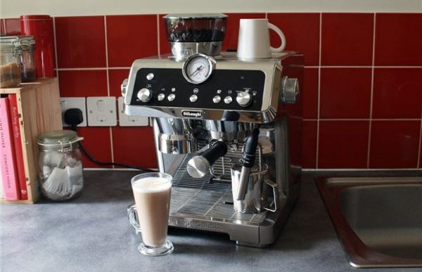 commercial coffee machine in your home