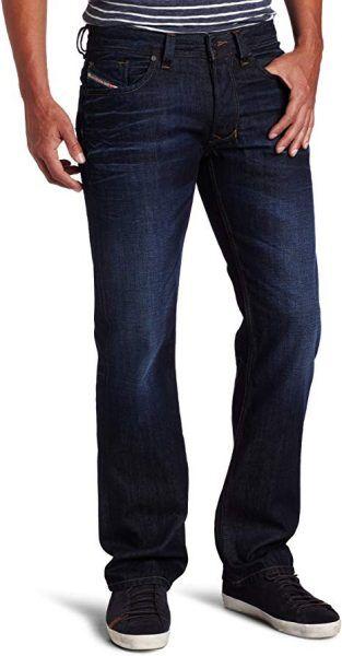 Best Luxury Jeans for Men: Diesel Larkee Relaxed Regular Straight Jeans