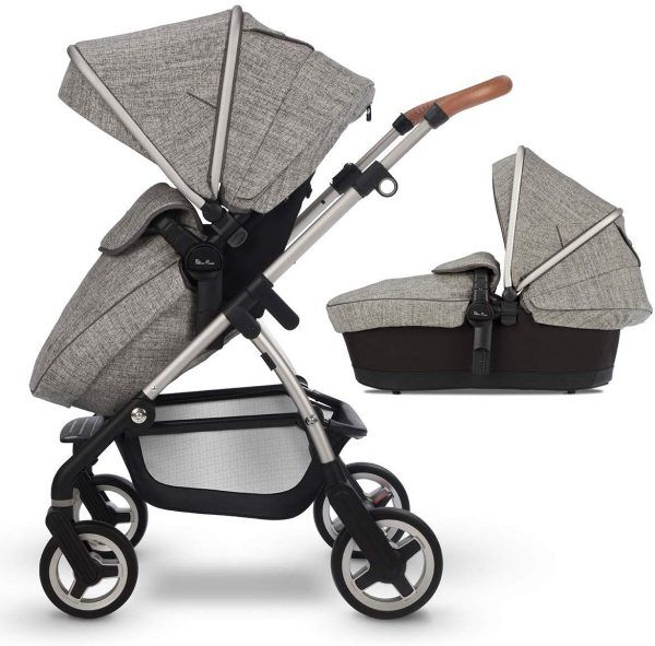 Best Luxury Baby Gifts Silver Cross Wayfarer Pushchair and Carrycot