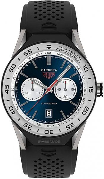 Best Luxury Smartwatches Tag Heuer CONNECTED MODULAR 45