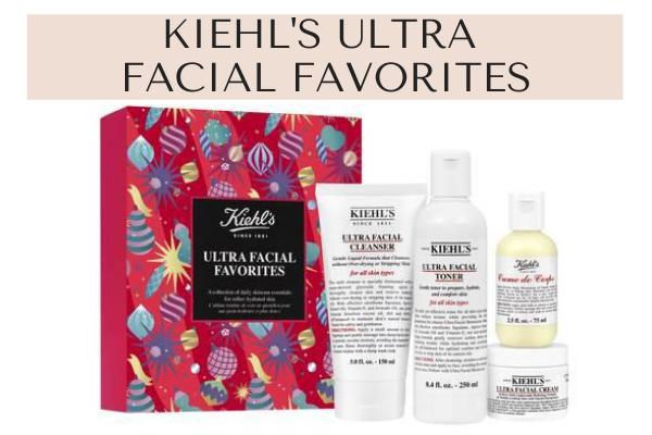 Kiehl's skincare set for men