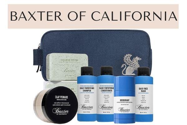 Baxter of California mens skincare set