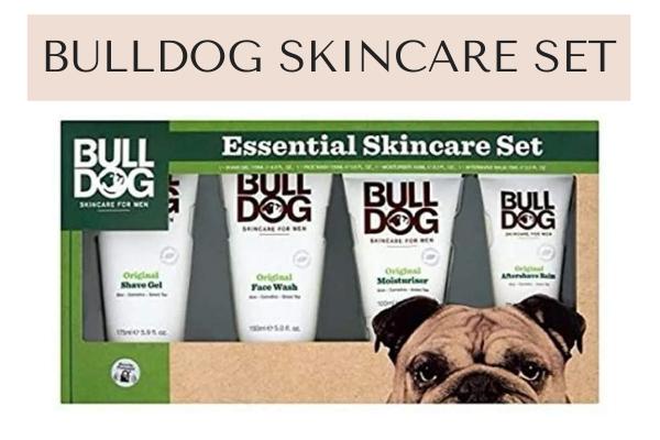 Bulldog skincare set for men