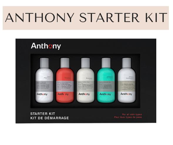 Men's Skincare Set by Anthony